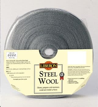 Liberon Steel Wool FINE to MEDIUM (00, 0, 1 )
