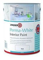 Zinsser PERMA-WHITE Interior Satin or Matt Paint