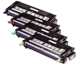 Dell 3130 H51 High Capacity 4 Colour Compatible Toner Cartridge Multipack - (593-10289/10290/10291/10292)