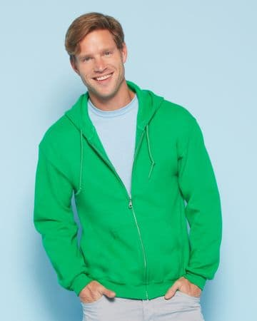 18600 GILDAN HEAVY BLEND™ ADULT FULL ZIP HOODED SWEATSHIRT