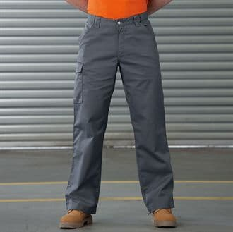 J001M Russell Workwear Poly/Cotton Twill Workwear Trousers