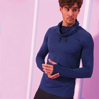 MS/JC037 Cool Cowl Neck Top With Marlow Striders Logo