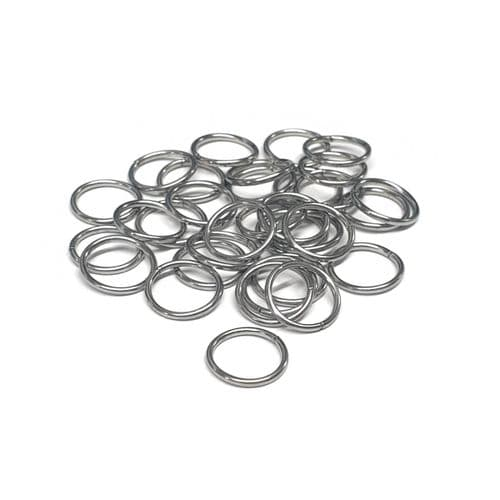 10mm Stainless Steel Open Jump Rings