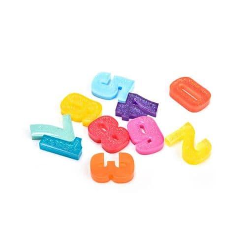 40mm Silicone Number Keyring Moulds