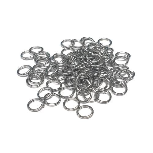 6mm Stainless Steel Open Jump Rings