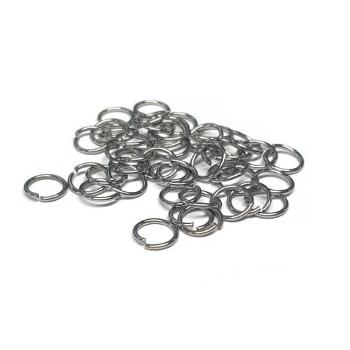 7mm Stainless Steel Open Jump Rings