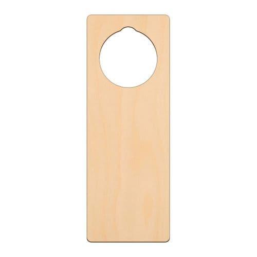 Birch Plywood Door Hanger