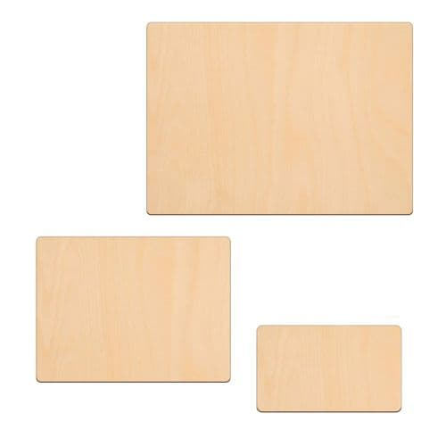 Birch Plywood Rectangle