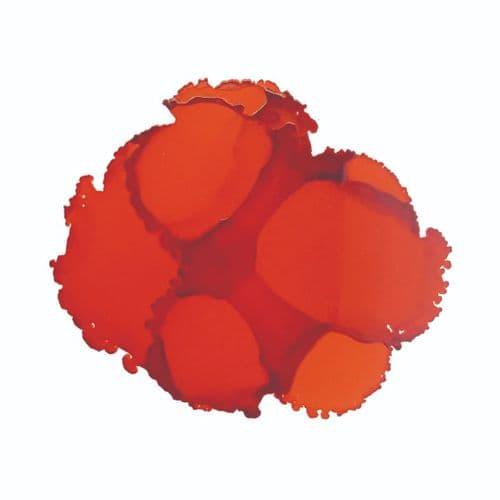 Calabaza Orange Pinata Alcohol Ink