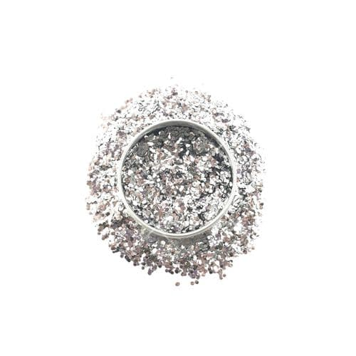 Chunky Eco-Glitter - Ultimate Silver