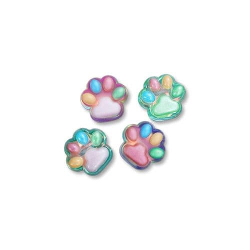 Chunky Paw Print Silicone Mould