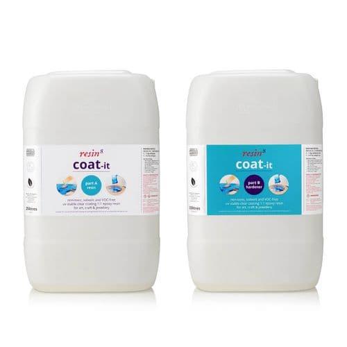 Coat-it Epoxy Art Resin - 50 litres