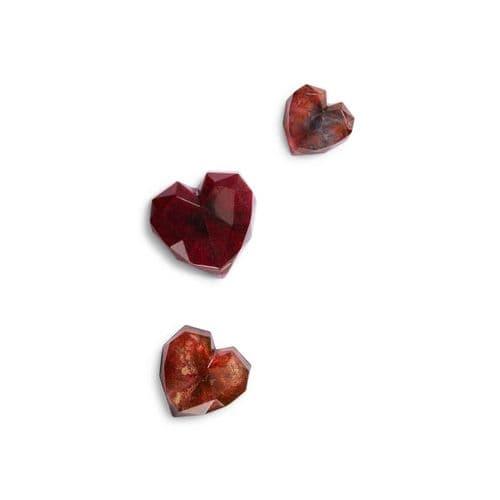 Contemporary Geometric Heart Silicone Mould