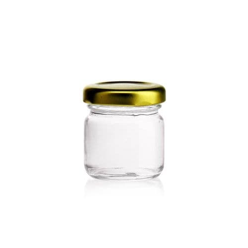Cute Glass Mini Jars