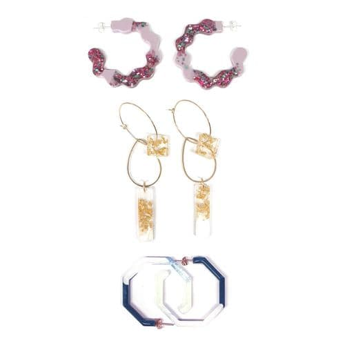 Earring Multi Mould: The Wiggle