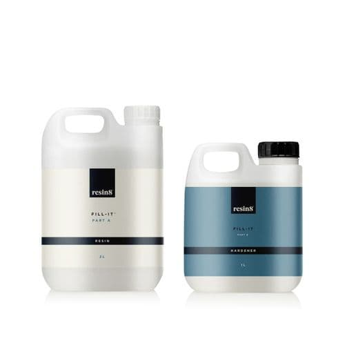 Fill-it Epoxy Casting Resin - 3 litres