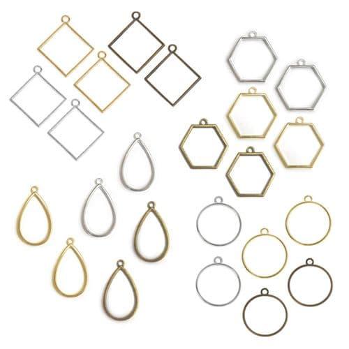 Geometric Glam Bezel Collection
