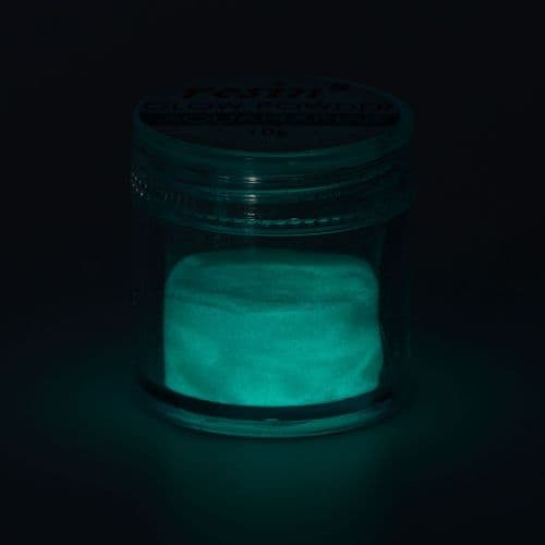 Glow in the Dark Powder - Aquamarine