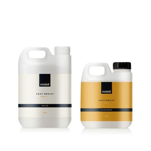 Heat-Resistant Epoxy Resin - 3kg