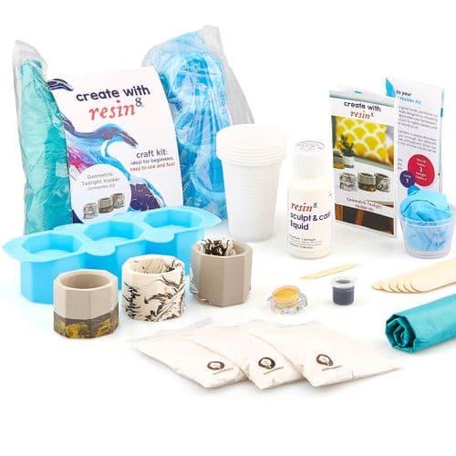 Jesmonite Tealight Holder Kit