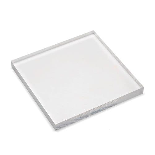 Level-it Clear Thick Jewellers Acrylic Block - 10cm Square