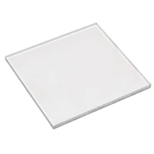 Level-it Clear Thick Jewellers Acrylic Block - 20cm Square