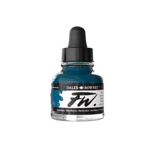 Marine Blue FW Artists' Acrylic Ink