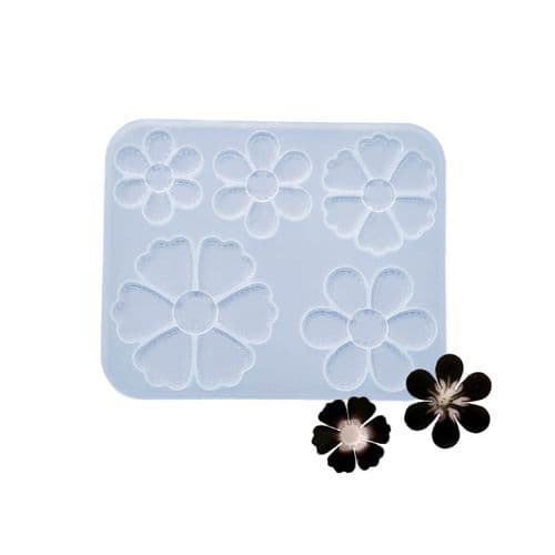 Meadow of Delightful Daisies Silicone Mould