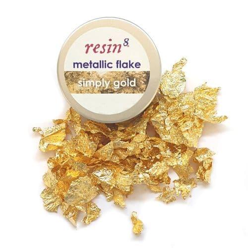 Metallic Flake - Simply Gold