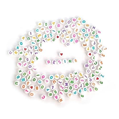 Mini Alphabet Beads