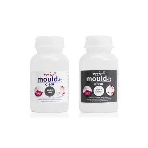 Mould-it CLEAR: LIQUID Silicone for Mould Making