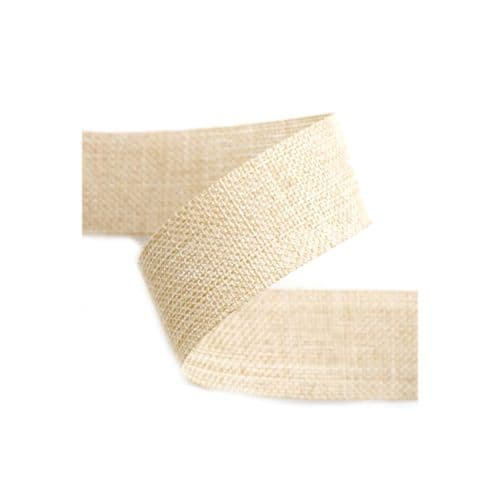 Natural Linen Ribbon