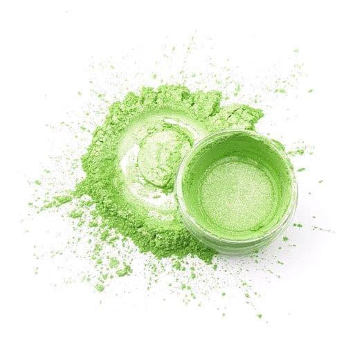 Natural Mica Powder - Fresh Lime