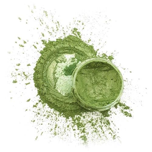 Natural Mica Powder - Green Goddess