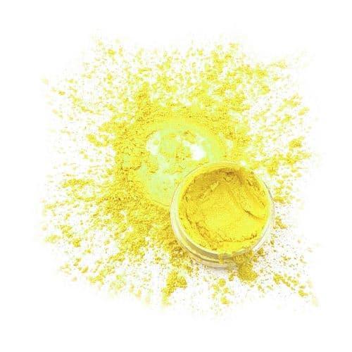 Natural Mica Powder - Sherbet Lemon