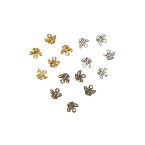 Nest of Buzzing Bee Charms