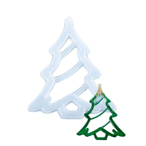 Open Christmas Tree Decoration Mould - No Drill