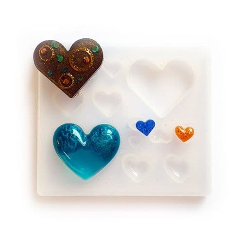 Queen of Hearts: Multi Jewellery Silicone Mould