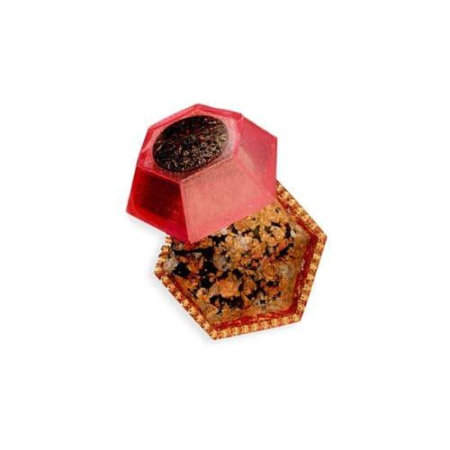 Raised Lid Hexagon Silicone Trinket Dish Mould