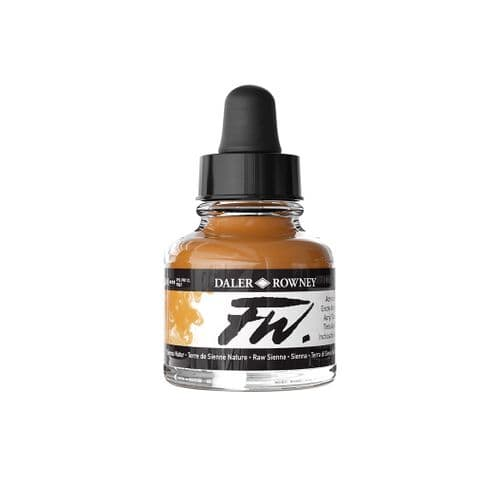 Raw Sienna FW Artists' Acrylic Ink