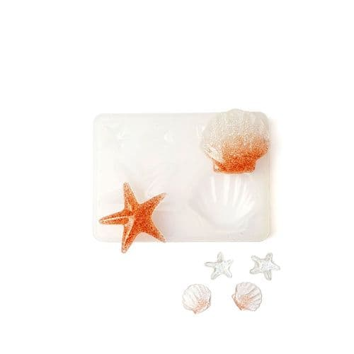 Seaside Shells Earring & Pendant Collection Silicone Mould