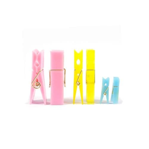 Silicone Triple Clothes Pegs Moulds
