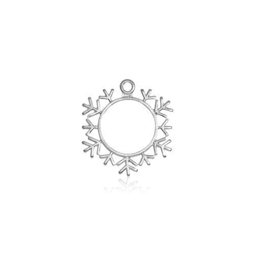 Snowflake Open Backed Bezel