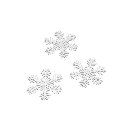 Sterling Silver Snowflake Charms - Individual