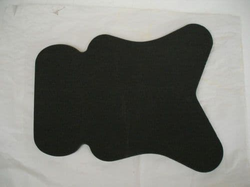 Motorcycle Seat Foam: 10mm & 20mm thick. Self adhesive.