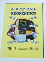 A-Z OF RAIL REOPENINGS  (1992)