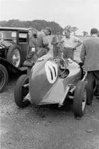 AJB Special Archie Butterworth in paddock Winfield Scotland 1951 (a)