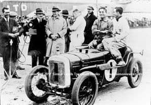 AUSTIN 7 SCH Davis & Freddy March. Winners 1930 BRDC 500 miles Brooklands. photo