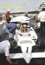 AYRTON SENNA Ralt RT3 F3 Silverstone photo 1983 (a)