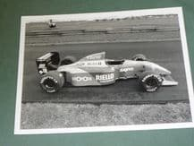 "BENETTON B190 F1 Original 8x6"" Press Office photo (B)"